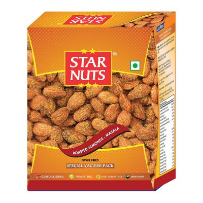 Starnuts ROASTED ALMONDS MASALA Almonds (190 g)