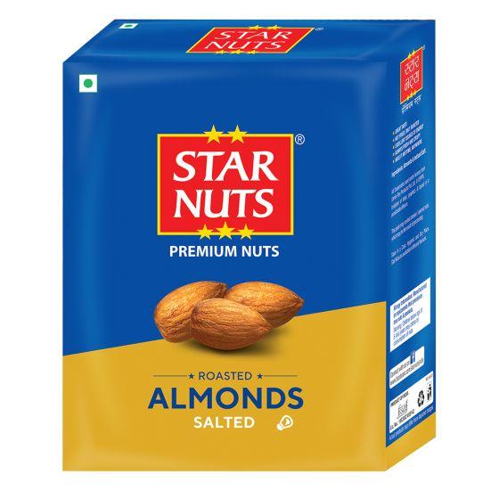 Starnuts ROASTED ALMONDS SALTED Almonds (190 g)