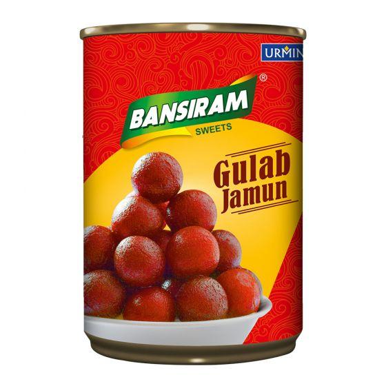 Bansiram GULAB JAMUN Tin (500 g)
