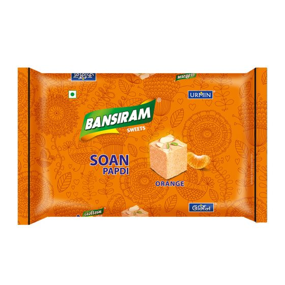 Bansiram SOAN PAPDI ORANGE Box (250 g)